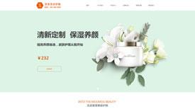 武汉网站制作|美容护肤|爱美丽美容护肤专家案例