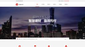 昆明聚力金融集团案例|金融投资|武汉专业网站制作