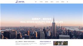 明光宇晨房地产集团-武汉企业网站设计