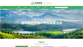 天水高和生态农业集团案例-武汉企业网站设计