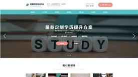柳州正天国际教育培训案例-专业网站建设制作