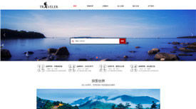 丽江新天游旅游发展有限公司案例-武汉网站制作公司